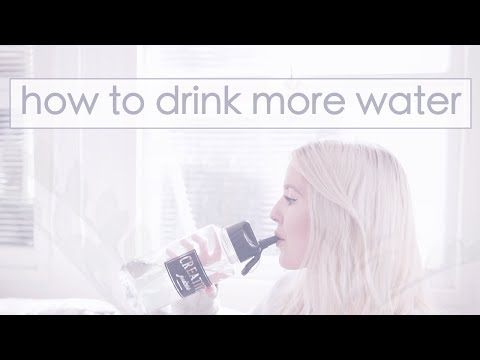 8 Easy Ways to Drink more Water Every Day �� ��
