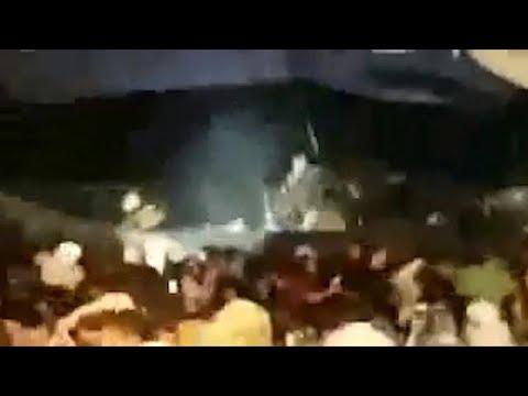 צונאמי באינדונזיה במהלך הופעה של להקה: 168 הרוגים