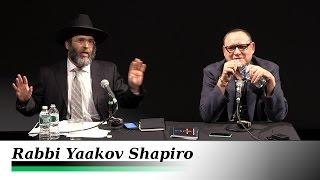 1/2 - Judaism vs Jewish Identity Politics - Rabbi Yaakov Shapiro and Gilad Atzmon