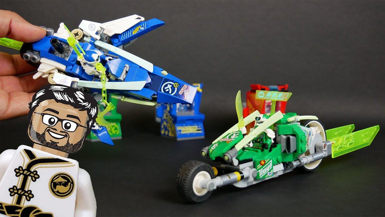 Download LEGO Ninjago 71709 - Les bolides de Jay et Lloyd - Le test en Français