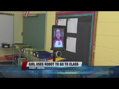 Robot helps West Bend first grader with special needs attend school