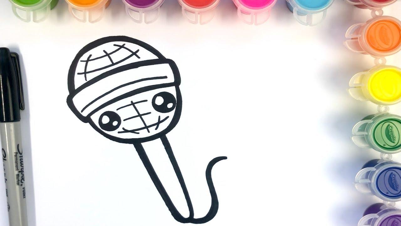 Como Dibujar Un Microfono Kawaii