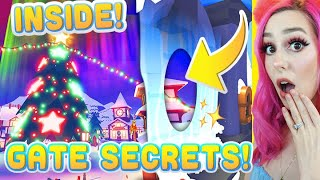 ADOPT ME CHRISTMAS GATE SECRETS, HOW TO ENTER, AND WHATS BEHIND IT! (Roblox Adopt Me)