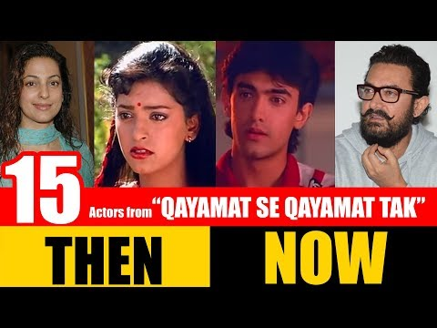 "15 Bollywood Actors from ""QAYAMAT SE QAYAMAT TAK"" 1988 