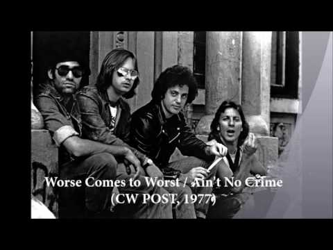 Billy Joel: Worst Comes to Worst / Aint No Crime Medley [Live at CW Post, 1977]