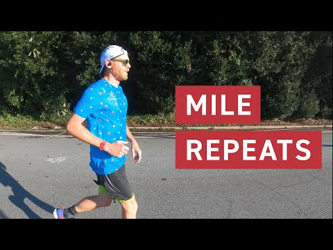 Looking at The Distance: GRIND Mile Repeat Workout