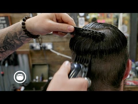 British Barber Fades Hair the American Way