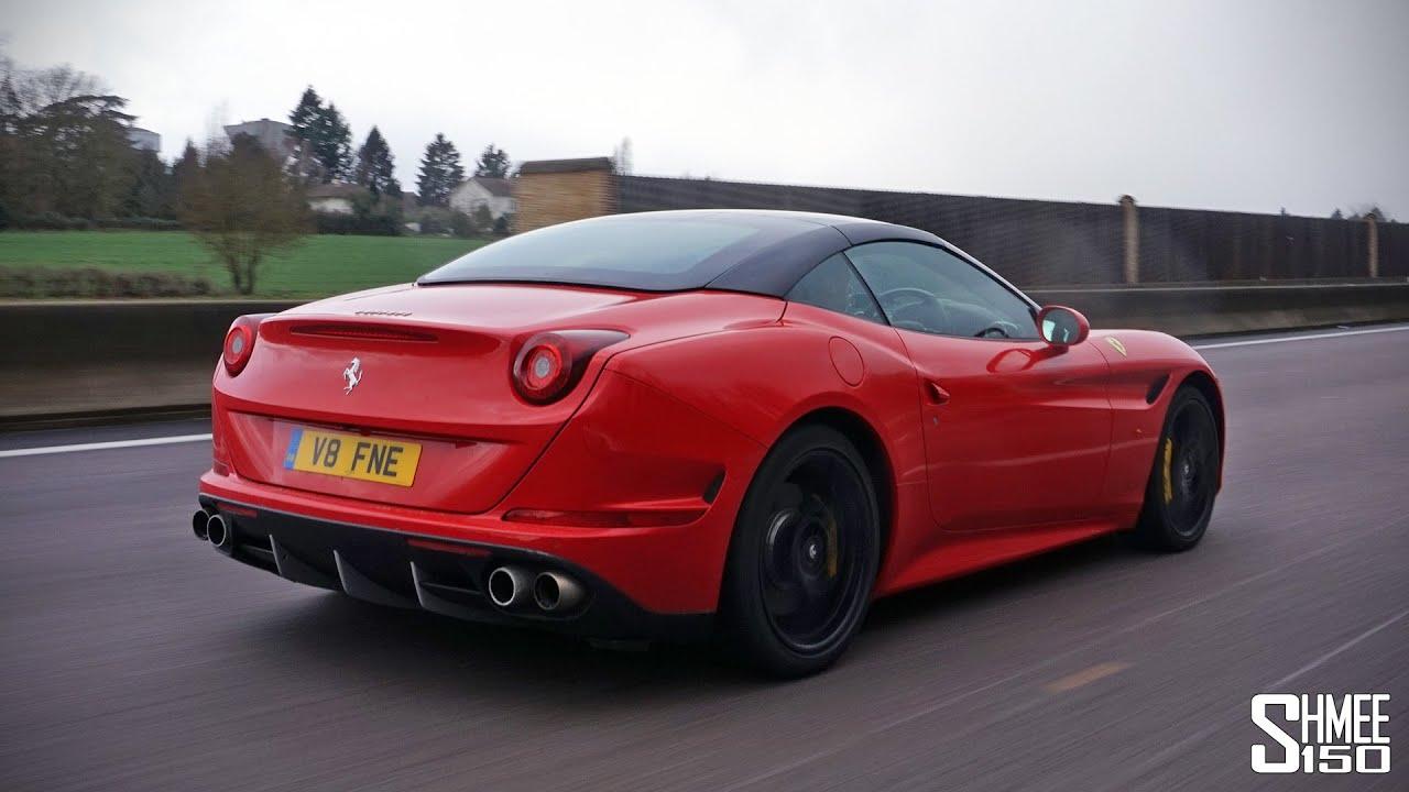 Driving Home In The Ferrari California T Youtube