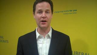 Nick Clegg on the Digital Economy Bill