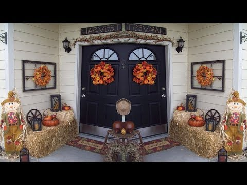 2017 Thanksgiving Front Porch Decorating Ideas 4