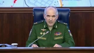 Брифинг МО РФ  Россия дала возможность боевикам покинуть Алеппо 20 октября
