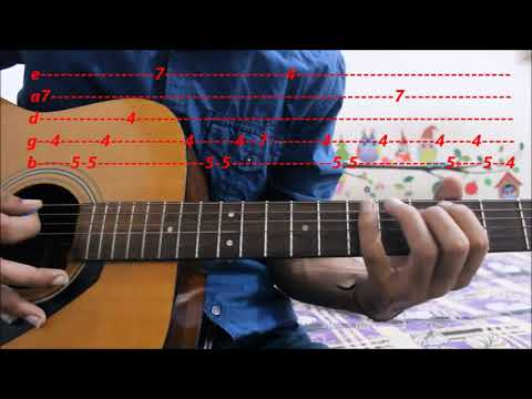 Titanic ( My Heart Will Go On ) Theme- Leads/Tabs - Extreme Beginners - Guitar Lesson hindi