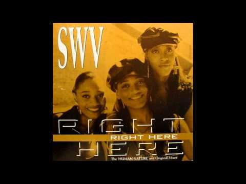 """Right Here"" SWV (Human Nature remix) (lyrics) (HD)"