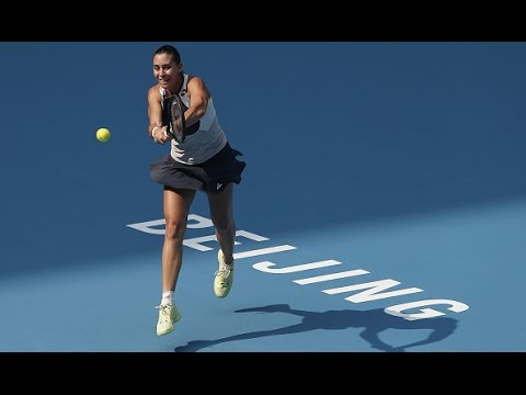 2015 China Open Second Round | Flavia Pennetta Vs Teliana Pereira | WTA Highlights