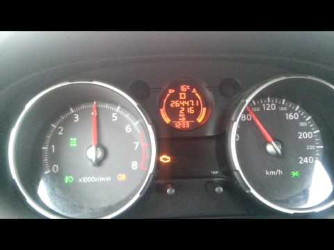Проблема вариатора CVT Nissan Qashqai J10