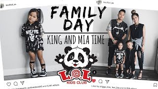 FAMILY TIME AT LOL INDOOR PLAYGROUND WITH KING AND MIA⎮MOM OF 2⎮BALLAN IN STYLE