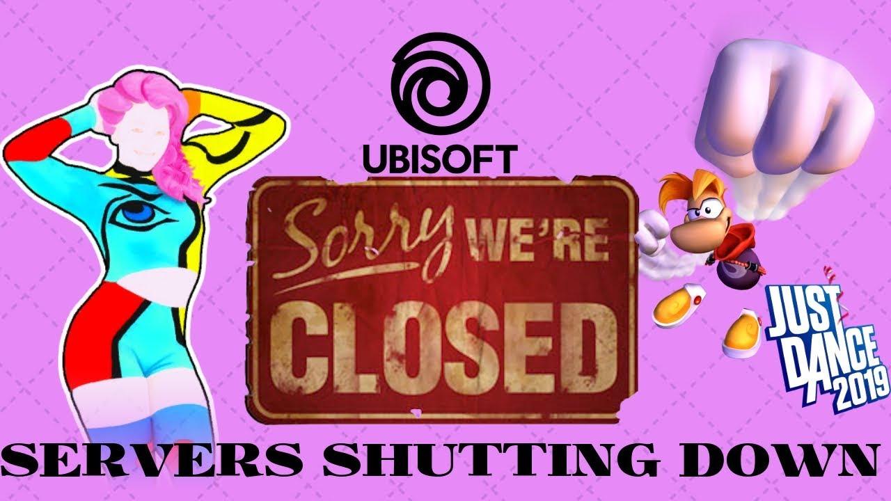 Ubisoft Shutting Down Game Servers! | Just Dance 2018 Online Servers Closing