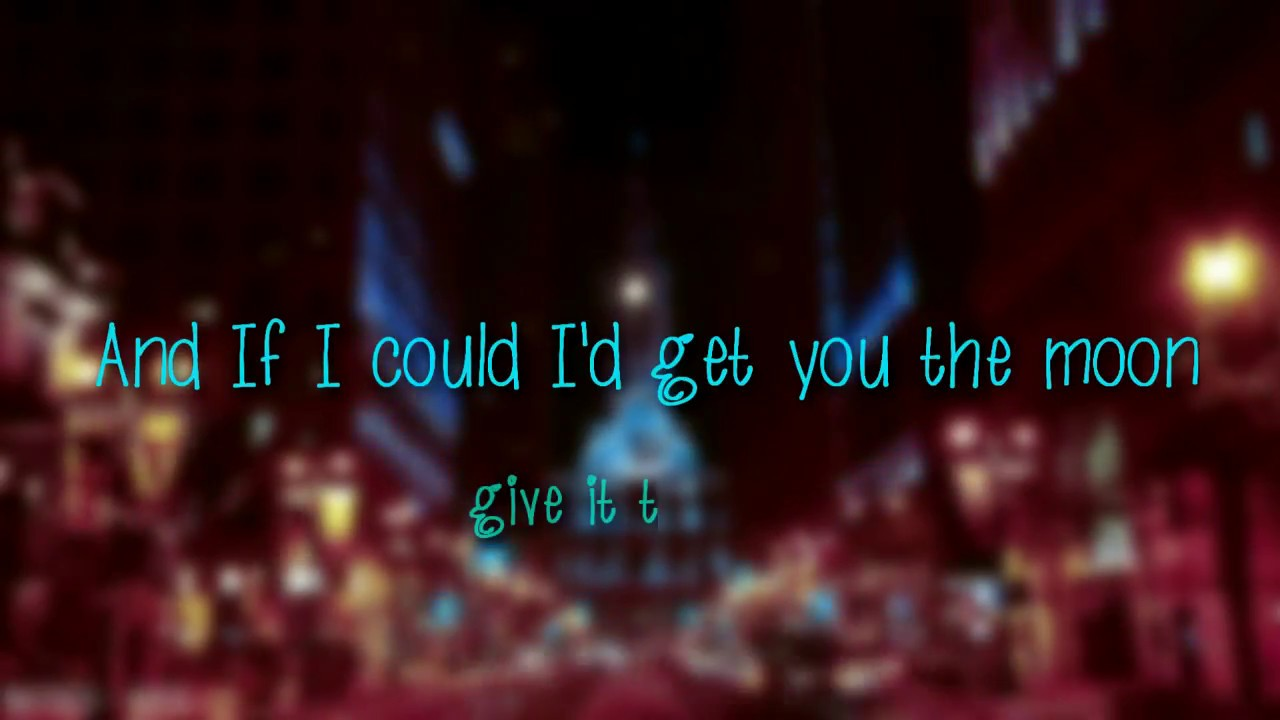 Get you the moon lyrics