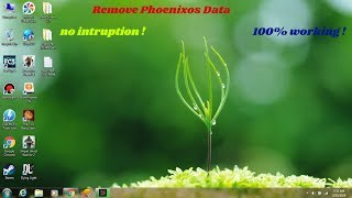 How to delete phoenix os data after Removing Phoenix os from computer