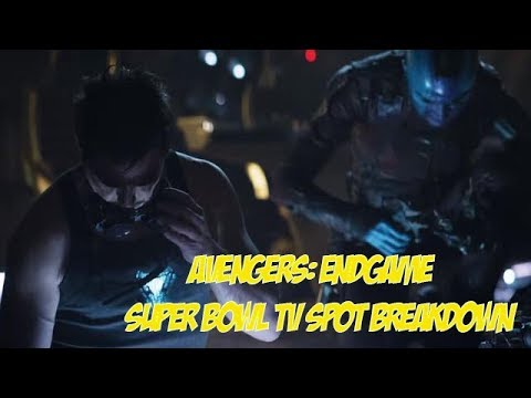 Ada Apa Dengan Capt? Avengers: Endgame Super Bowl TV Spot Breakdown