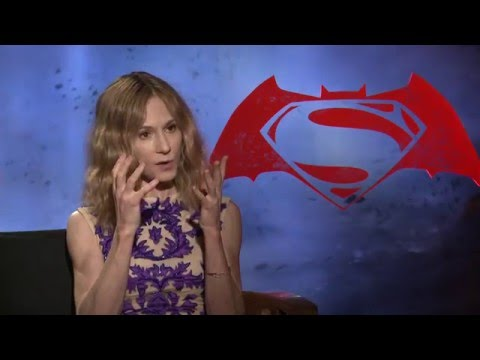 "Batman V Superman ""Senator Finch"" Interview - Holly Hunter"