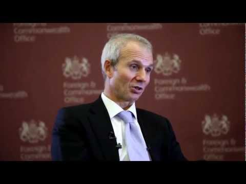 David Lidington, Minister for Europe at the Foreign and Commonwealth Office