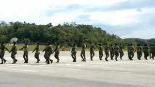 Latihan Kawad Formasi Rotu Upsi Batch 8 (Platun 1)