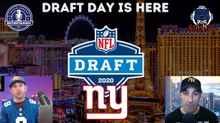 2020 NFL DRAFT LIVE STREAM W/Chris & The Baddog New York Giants! Live Draft Reactions