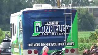 Joe Donnelly gets a special welcome   Indiana Senate   NRSC