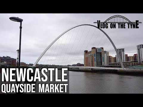 Newcastle Quayside Market & By The River | Vlog On The Tyne