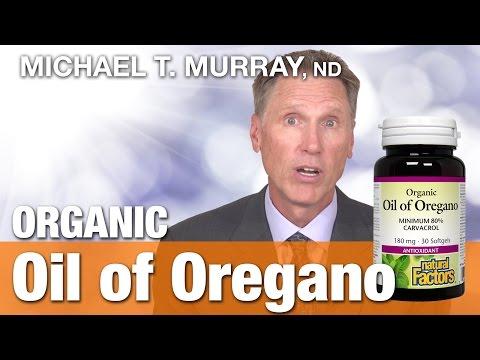 Natural Factors Organic Oregano Oil Caps with Dr.  Michael T.  Murray