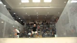 1-US Jr Open Squash 2013 - K Ibrahim (EGY) v Yacobucci  (USA) BU17 QtrFinal - Game 1 thumbnail