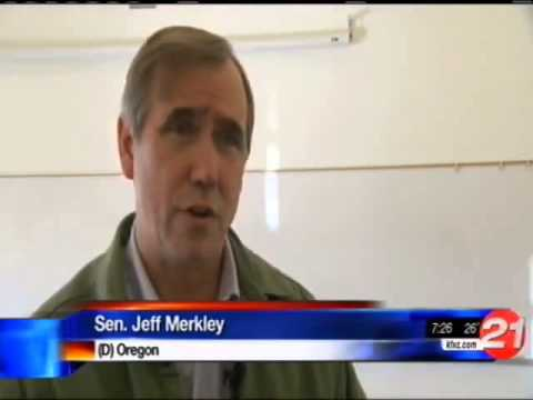Sen. Jeff Merkley Gets An Earful From Upset Constituents Over ObamaCare
