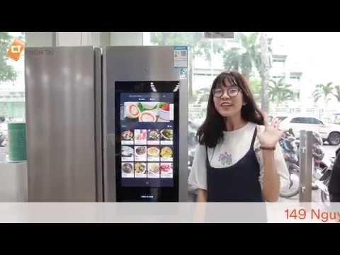 VIOMI FACE 21 450L- Tủ lạnh tích hợp cả màn hình giải trí 21 inch