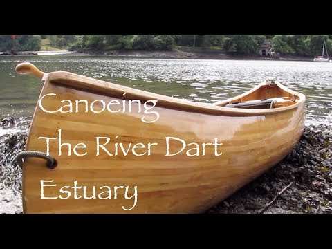 The River Dart Estuary in an Open Canoe.