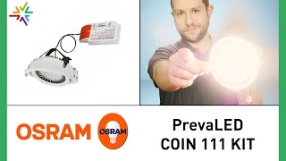 OSRAM PrevaLED COIN 111 KIT - Ersatz der OSRAM HCI / Philips CDM [watt24-Video Nr.164]
