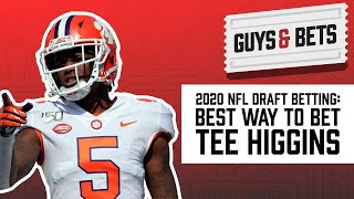 Odds shark's iain macmillan offered his top two bets for the nfl 2020 draft on today's episode of guys & bets. here's one clemson standout, tee higgins. ...