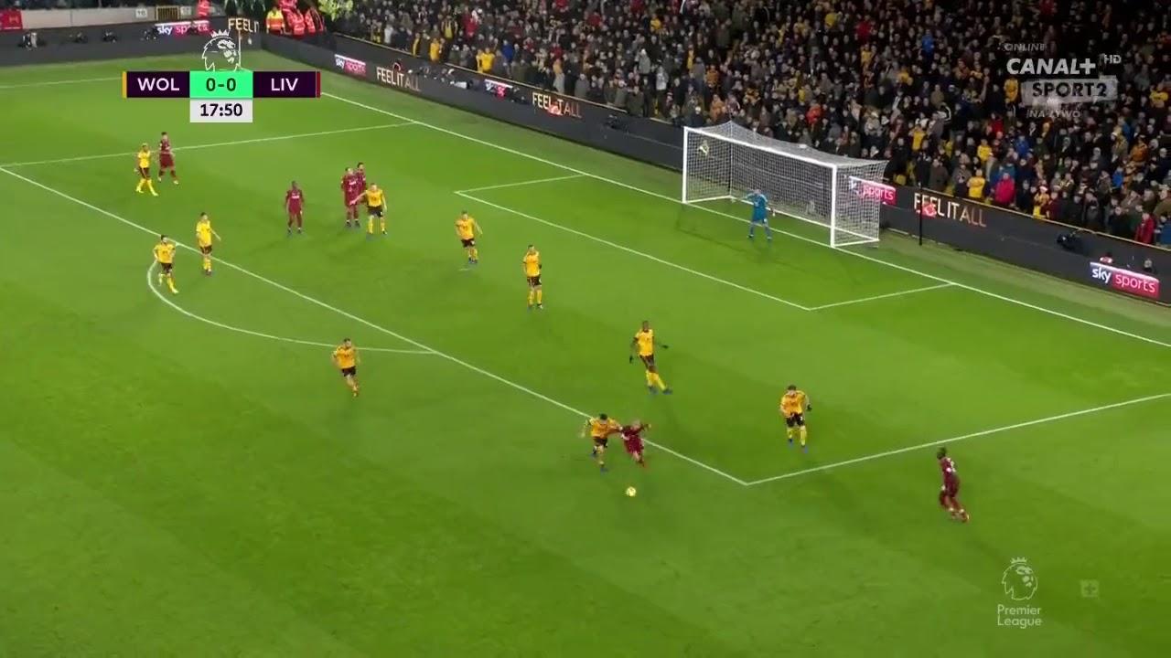 محمد صلاح يسجل أول أهداف ليفربول في شباك وولفرهامبتون