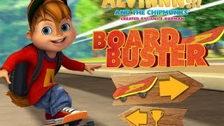 Alvin and the Chipmunks board-buster (Эливин и Бурундуки игра)