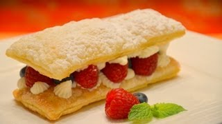 How to Make Mille Feuille  ขนมฝรั่งเศสมิลเฟย