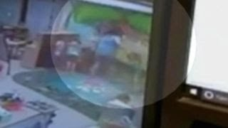 Daycare worker caught on camera throwing 5-year-old arrested