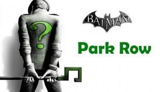 """""""Batman Arkham City"""", ALL Riddler"""