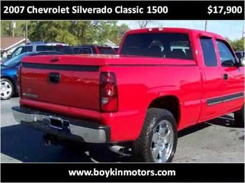 2007 Chevrolet Silverado Classic 1500 Used Cars Smithfield