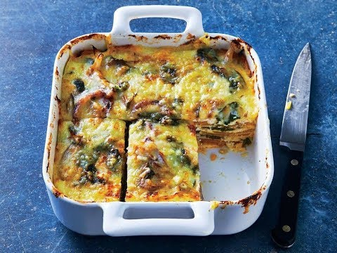 Butternut Squash and Spinach Lasagna   Live