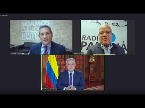 Entrevista al Presidente Iván Duque en Radio Panamá - 28 de junio de 2021