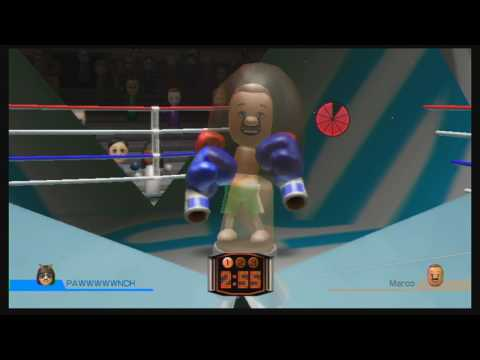Wii Sports: Unused Boxing Arena