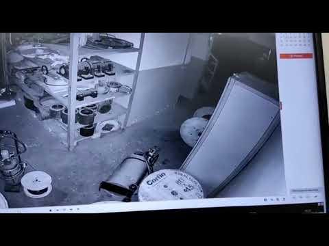 São Miguel: Ladrões furtam bobinas de cabos de energia e deixam prejuízo de R$ 60 mil