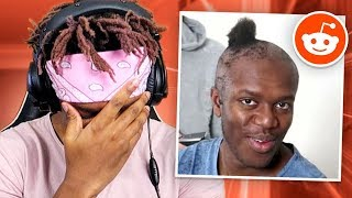 REACTING TO THE KSI REDDIT PAGE