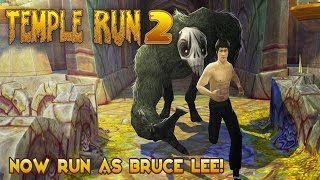 Temple Run 2 Unlock New Bruce Lee Classic Outfit - My New Highest Score Record!!!