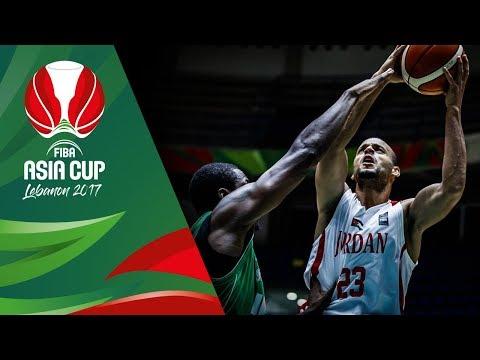 Jordan v Iraq - Highlights - QF-Qualifiers - FIBA Asia Cup 2017